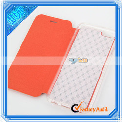 """2014 New Cute PU Leather and TPU Protective Case for 4.7"""" Apple iPhone 6"""