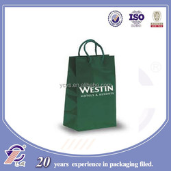 Factory hot sale different types of paper bags, green art paper shopping bags with your Logo from China