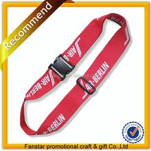 Wholesale luggage belt lanyard, polyester luggage belt,luggage belt