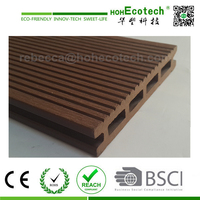 roof WPC wood plastic composite decking balcony wooden decking flooring/roof decking material