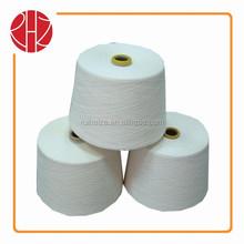 Hilado de algodón máquina de acrílico hilados de poliéster varada color