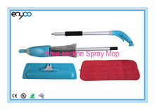 Three-section Noble Microfiber foldable Spray Mop assembly and disassembly,easy carrying