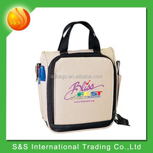 polyester travel cute cd dvd case with carry handle