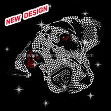 Beautiful rhinestone for clothes decoration dog Chihuahua I_2_(3)