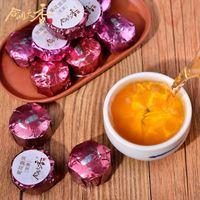 yellow chrysanthemum taste tea chinese pu erh flavour