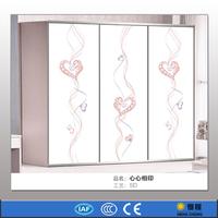 3 panel sliding closet doors paint glass door