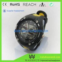 Analog digital chronograph dual movement watch sport 30m waterproof