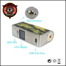 2015 vaporizer e cigarette yosen zero 50w box mod factory price