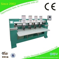 economical three in one combined embroidery machine