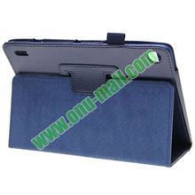 High Quality Lichee Texture Leather Cover Cases for Acer Iconia a1-810 with Pen Holder