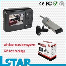 2.4inch color monitor wireless rearview camera system