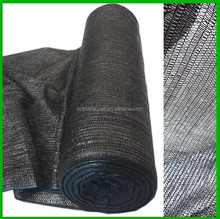 black green and white color mono or tape thread yarn sun screen mesh