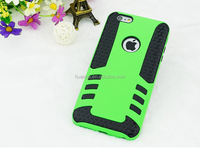 Cell phone accessory Tyre grain heavy duty rocket design PC&TPU case for apple iphone 6 4.7 inch hybrid combo case alibaba china