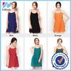 6 colors Cuasual Dress 2015 summer women wear new fashion dresses wholesale chiffon mini dress