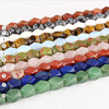 SB6453 Wholesale natural semi precious stone faceted nugget beads