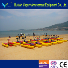 New designed amusement water bicycle/sea cycle water bicycle/commercial grade amusement water bicycle