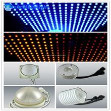 2015 Hot DVI/DMX artnet diameter12, 30,50,64,80,100,120mm LED stage pixel light of led bar dot lighting