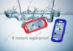 new product for waterproof and shockproof camera case, case for mobile phone, waterproof case for galaxy note