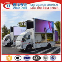 GOOD QUALITY! 4x2 LED truck, Out-door mobile LED advertising truck, Display LED truck for P10, P8, P6 screen effect