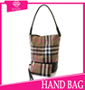 new product 2016 canvas stripe fashionable bucket OEM fashion womens bags canvas bags for women from China supplier