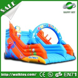 Hot sale commercial inflatable slide,giant inflatable water slide,inflatable floating water slide