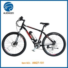 Mountain downhill electric bike 36v lithium battery 250w mid motor battery powered electric motor