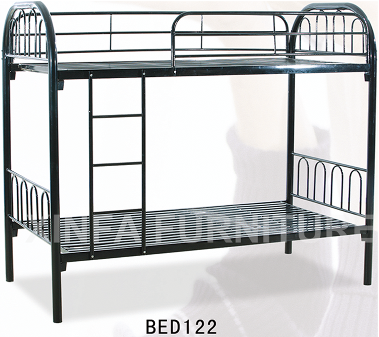 School Dormitory Modern Design Iron Double Decker Metal Bed Frame ...