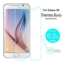 Genuine Tampered Glass Film Screen Protector For New SAMSUNG GALAXY S6
