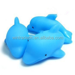 Sell high quality flashing PVC dolphin /singing mini dolphin toys