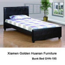 Twin size Black full PU Cover Bed