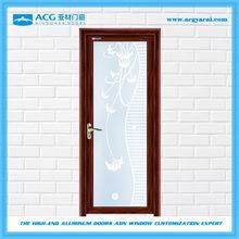 Double insulating promotional interior swing door