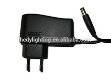 Professional factory supply ac dc adapter single output type adaptor with Customized service 12v 1a dc power supply