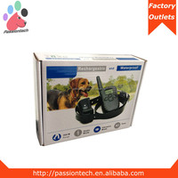 300M Waterproof Rechargeable Remote Shock Collar for One or Two Dodgs Training from China