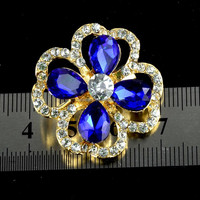 Asfour 888 Crystal Brooch, crystal rhinestone brooch pin for wedding dress