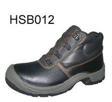 Wholesale cheap price name brand PU injection safety shoes for industrial