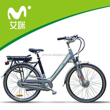 fashionable 28' green city electric bike