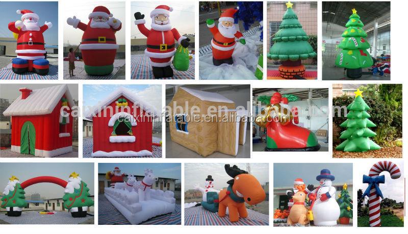 Hot sale cheap santa inflatable christmas funny inflatable for Cheap christmas decorations sale