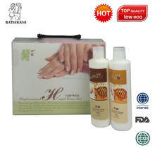 Professional hand care foot care pack, whitening soaking fizz, salt scrub,massage cream, mask,cream