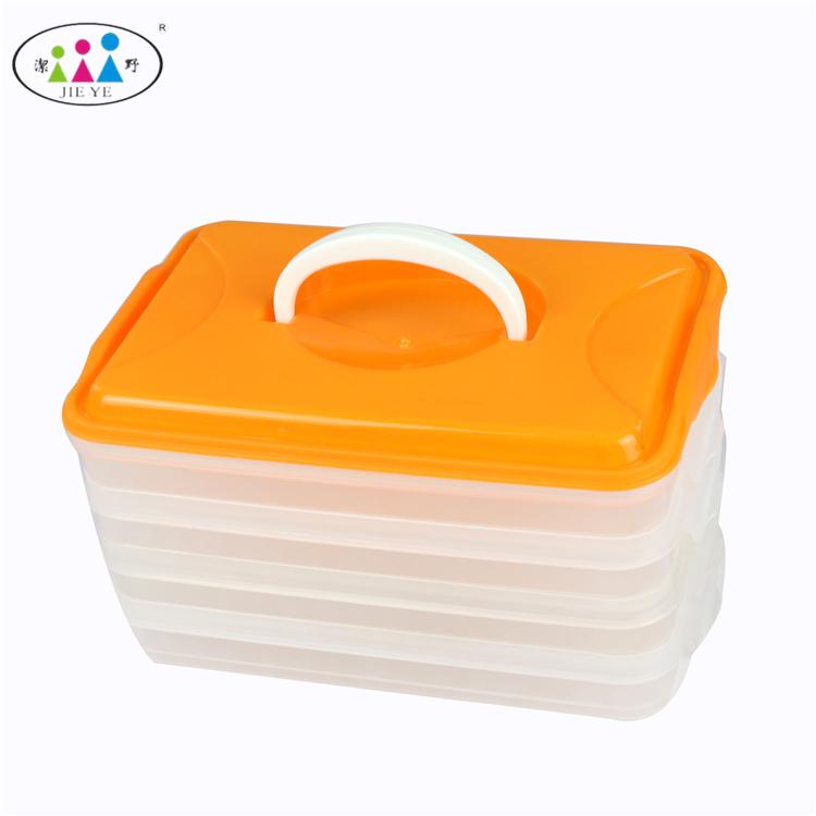Высокое качество многослойные делителей пищевых контейнеров дети lunchbox bento для отнять