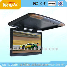2013 Lowest price Chinese factoy 22 inch flip down car monitor for truck