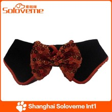 Fashion Pet BowTie with Sequin Dog and Cat Accessories Products
