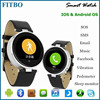 "1.22"" Round + Android & IOS watch cell phone oem for Samsung galaxy S4"