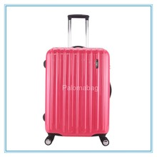 new fashionable designer polo hard shell luggage suitcase bag, abs and pc trolley luggage,
