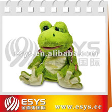 Singing and dancing frog doll with different actions for plush