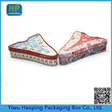 Creative shaped candy tin tin of mints various types of food packaging box