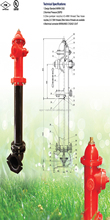 FM/UL APPROVED 250PSI DRY BARREL FIRE HYDRANT