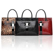 High quality 2015 new Crocodile women shoulder bag Retro Pack women handbag PU leather bags tote bags Free Shipping