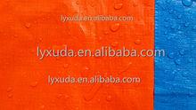 Light duty economical Waterproof blue/orange Polyethylene Poly cover