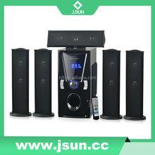 2015 New Style Portable Wireless Bluetooth Speaker 5.1 Surround Sound Speakers Active Type Best Bluetooth Speaker DM-6519