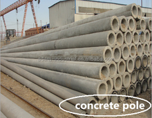 Design concrete pole making machine with services in all aspect